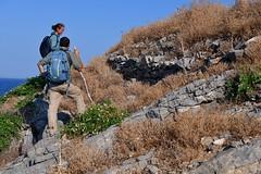 Ancient walls on Raptis island