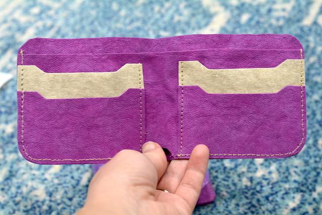 Kraft-tex bi-fold Wallet