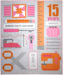 15 Years and Counting... Quilt by Whimzie Quiltz
