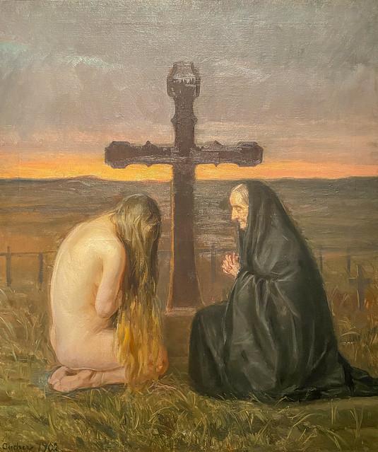 Anna Ancher; Grief. 1902 SMK, National Gallery of Denmark