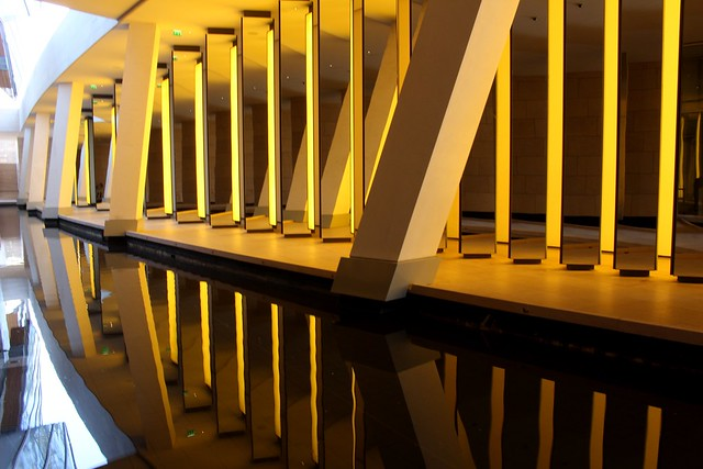France - Paris - Louis Vuitton Foundation - Mirrors and reflections