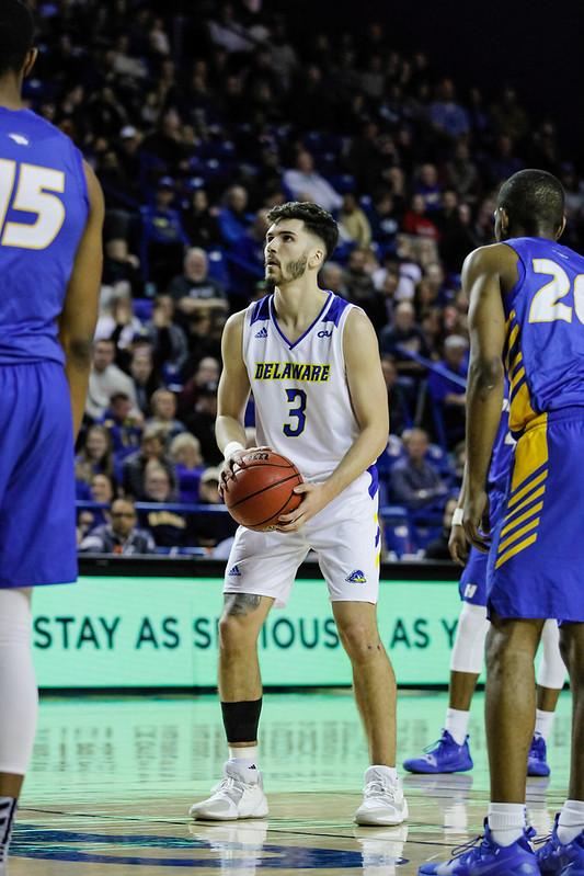 UD Basketball vs Hofstra 2/22/20 - Louis Mason