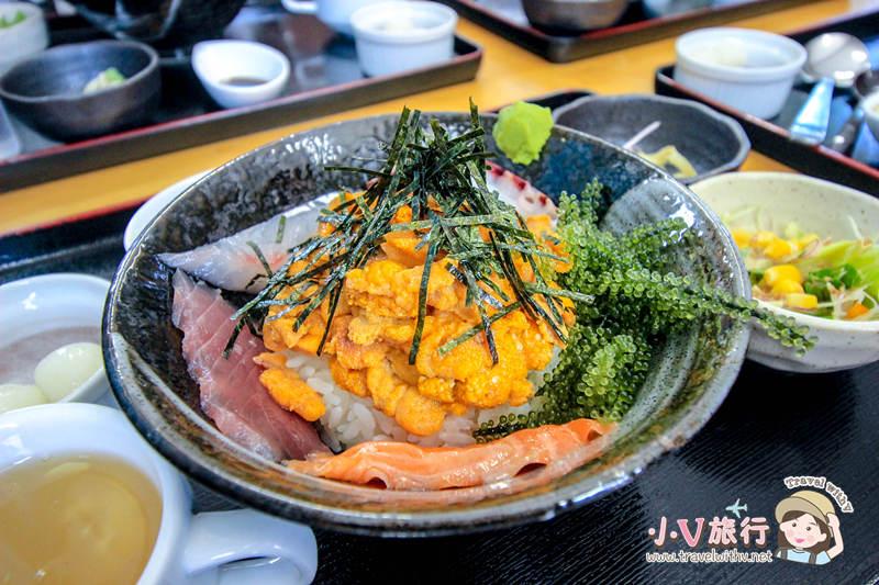 沖繩古宇利島美食 錦屋海膽丼飯