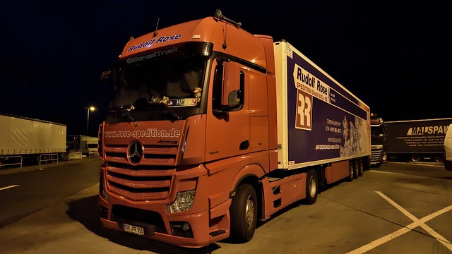 D - Rudolf Rose Spedition MB new Actros Gigaspace