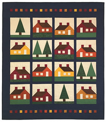 Wyoming Woods & Cozy Cabins Quilt by Whimzie Quiltz