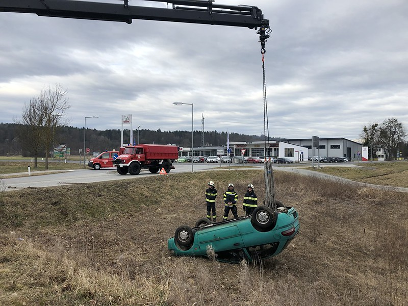 Bereitschaftsdienstübung - Fahrzeugbergungen 23.02.2020