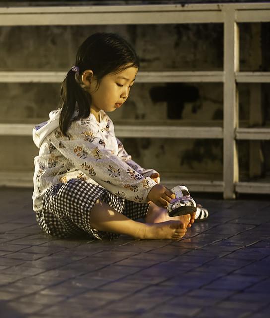 Wat chedi luang: Zapatos fuera