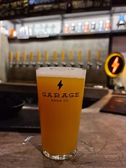 Drinking a SOUP IPA by Garage Beer Co.