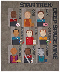 Deep Space Mine Quilt by Whimzie Quiltz