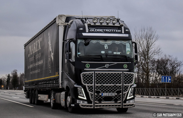 Volvo FH4 Globetrotter XL 500 Marex (PL)