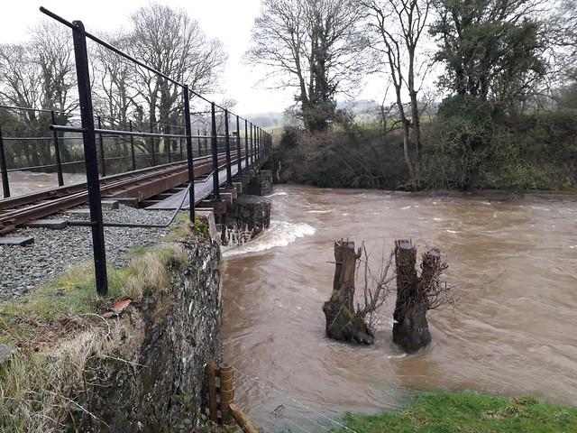 Banwy Bridge Upstream
