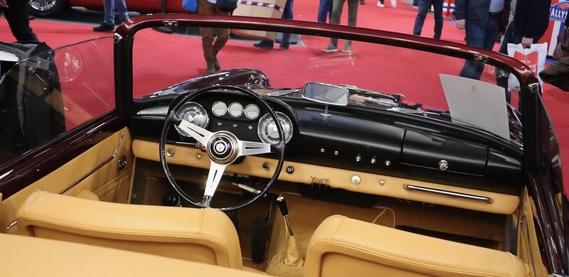 Maserati 3500 GT Spyder Vignale 1959  - Retromobile Paris 2020 49575035843_6d35b5db61_c