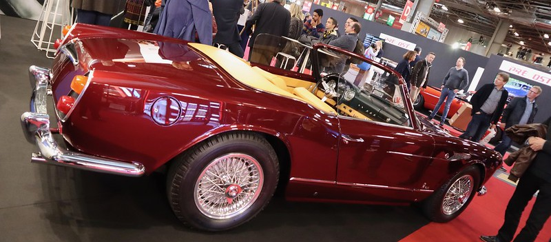 Maserati 3500 GT Spyder Vignale 1959  - Retromobile Paris 2020 49575035988_fcd1f92491_c