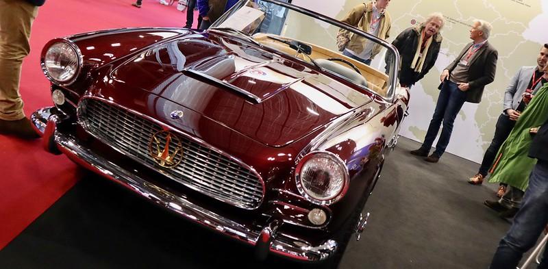 Maserati 3500 GT Spyder Vignale 1959  - Retromobile Paris 2020 49575036853_5f4844df85_c