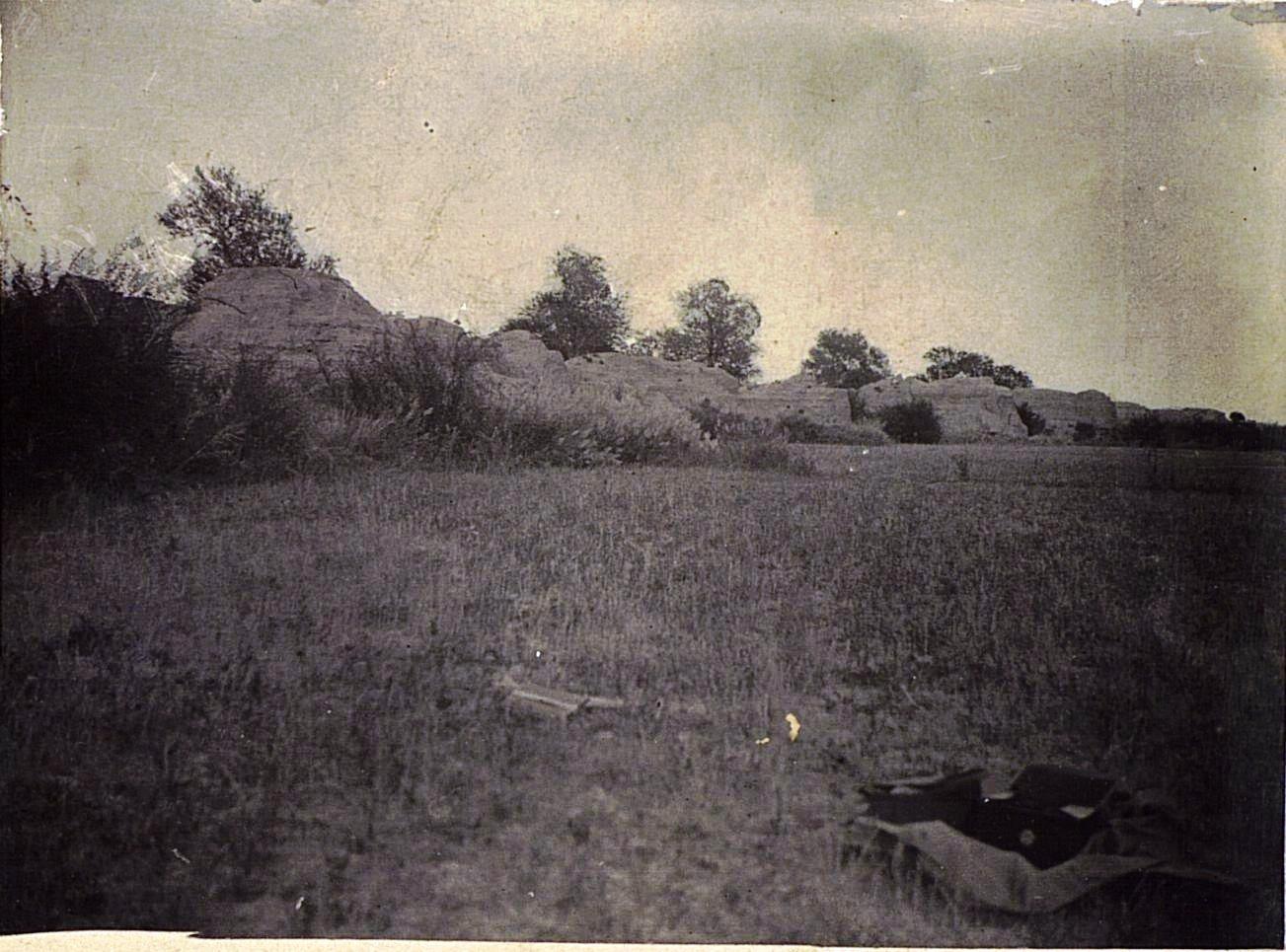 04. Общий вид развалин древней столицы Уйгурии Бишбалыка
