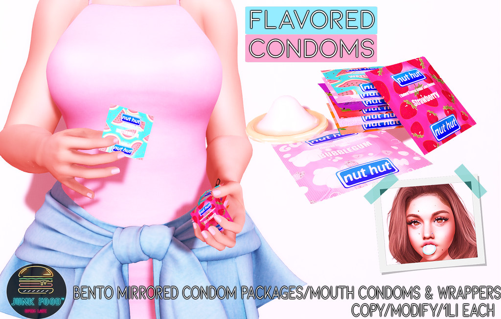 Junk Food – Flavored Condoms