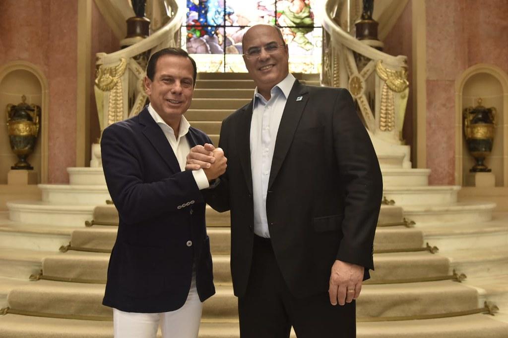 Almoço com o Governador do Rio de Janeiro, Wilson Witzel