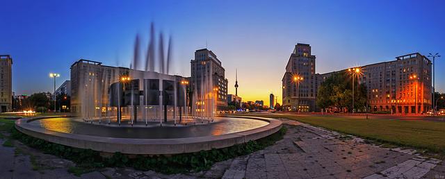 Strausberger Platz - Berlin Panorama