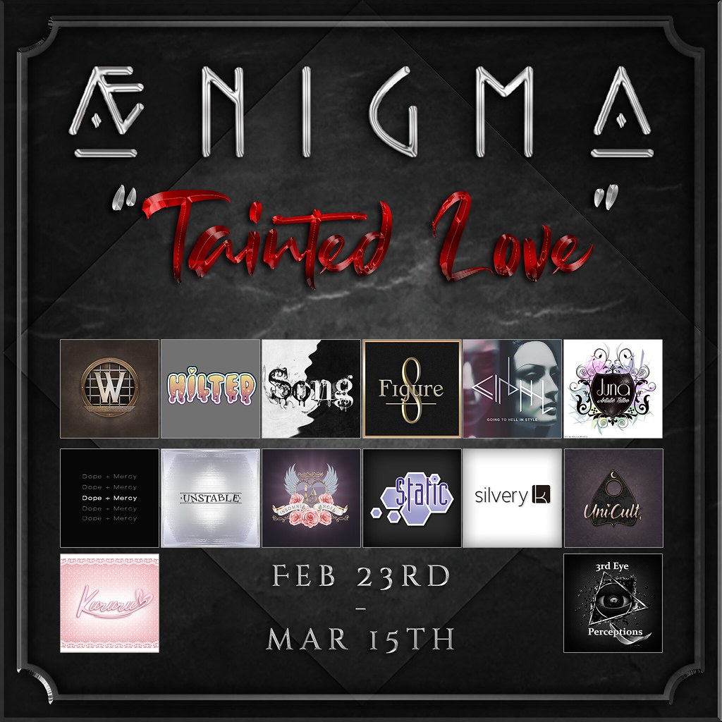 Aenigma – Tainted Love IS OPEN