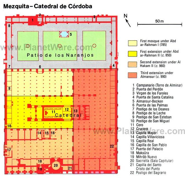 mezquita-catedral-de-cordoba-map