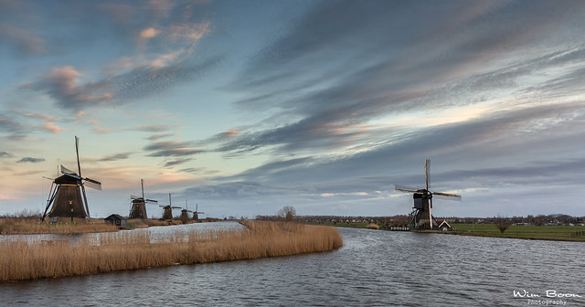 Searching for some Colors in Kinderdijk