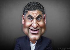 Cenk Uygur - Caricature