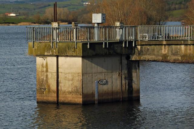 20 - Blanzy (Bourgogne du Sud) - Barrage de la Sorme