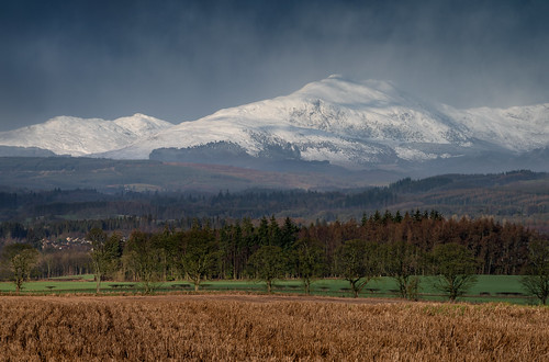 benlomond trossachs mountain snow landscape trees field winter light clouds weather doune b824 davidstirling davidstirlingmountain scotland nikon d810 nikond810 70200mm 200mm nikkor70200mm nikkor70200mmf4