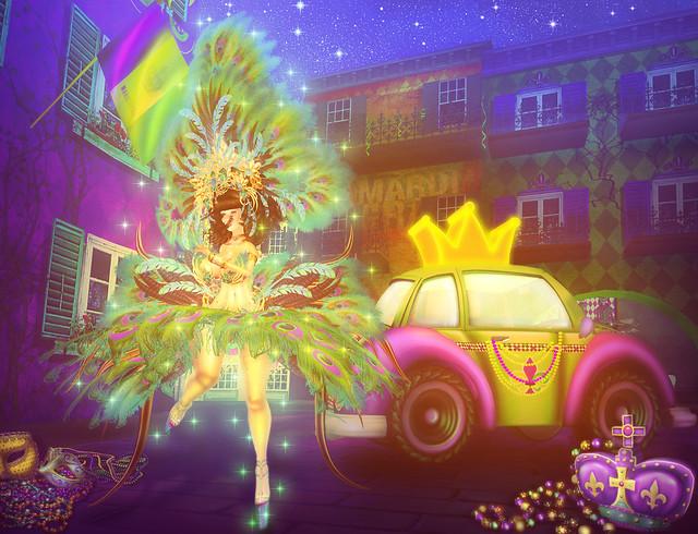 Mardi Gras Eve
