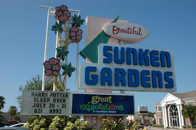 Sunken Gardens, St Petersburg, FL
