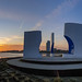 Omroep Zeeland posted a photo:Door Gisèl van Aerts, TerneuzenUitkijkpunt Oostpier met zonsopkomst