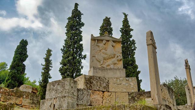 Grave Stele of Dexileos, 394-393BC