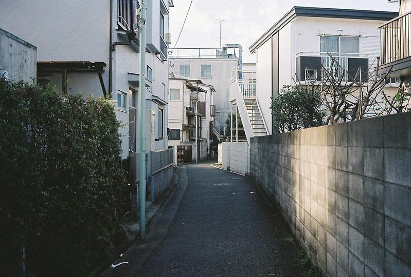 024東京いい道しぶい道西大井のんき通り三吉稲荷大明神先の暗渠