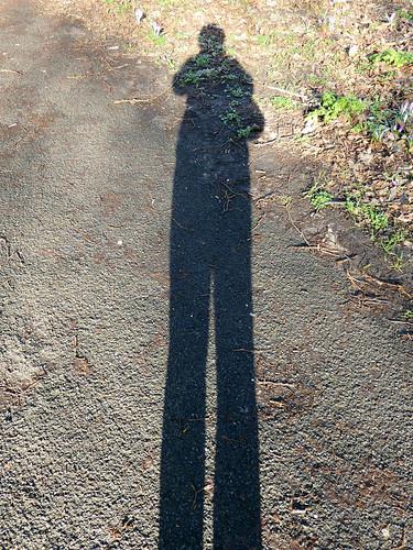 Long Shadow Selfie
