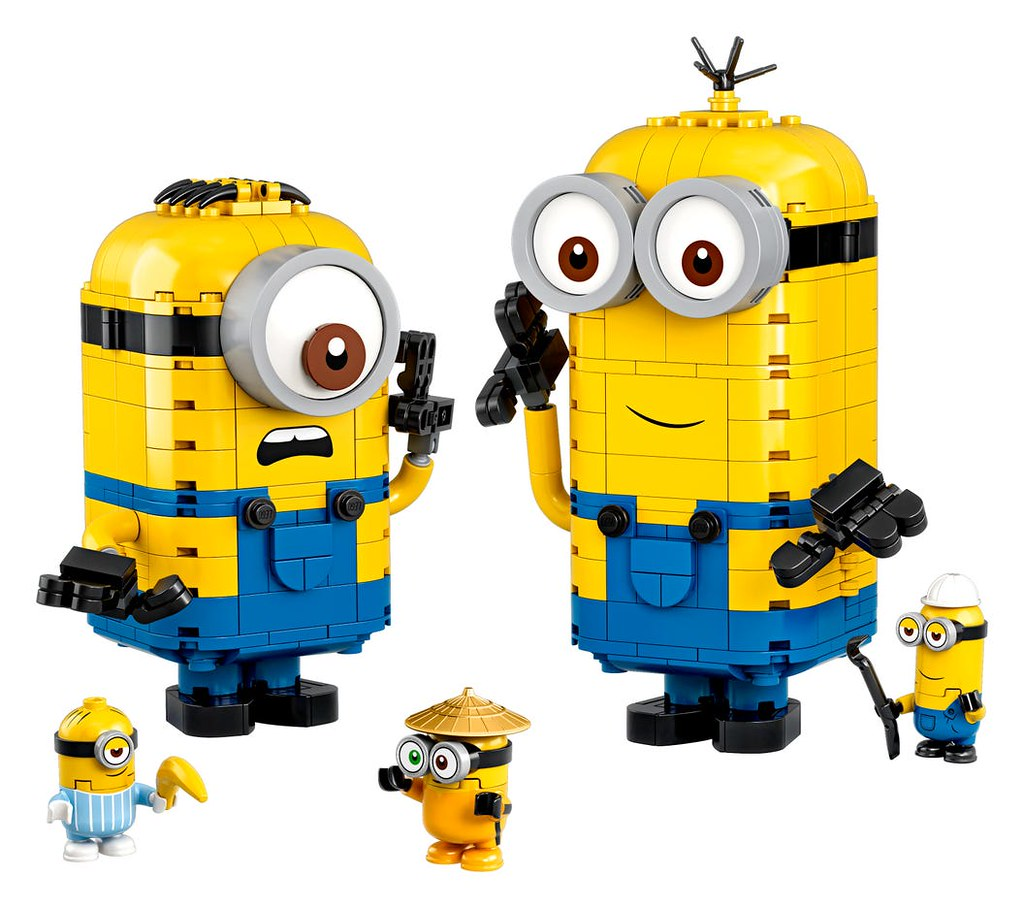 巴巴巴~巴巴那那~! LEGO 75546、75547、75549~75551《小小兵2:格魯的崛起》Minions: The Rise of Gru 多款盒組發表