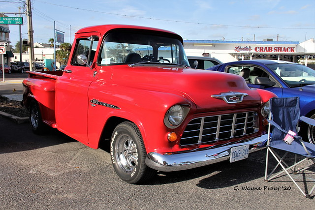 1955 Chevrolet 3100 V8 Step-side Pickup Truck
