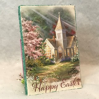Mini White and Pink Easter church | by christmasnotebook