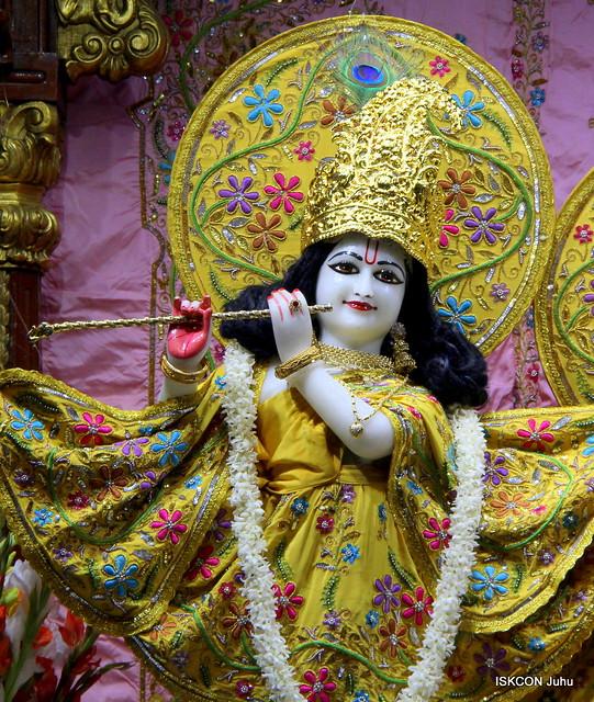 ISKCON Juhu Mangal Deity Darshan on 24th Feb 2020