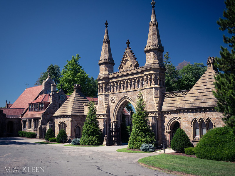 Forest Hills Cemetery's Gothic-Revival Gate