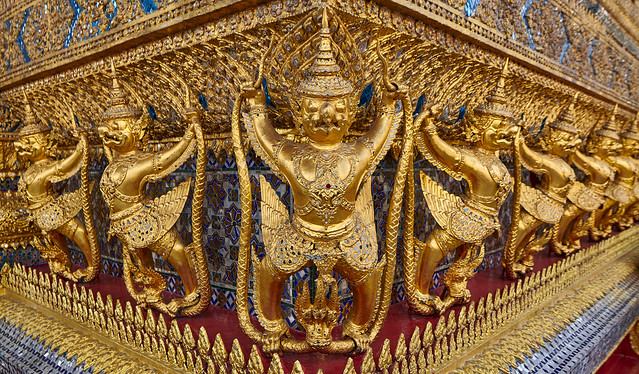 Wat Phra Kaew - Bangkok, Thailand