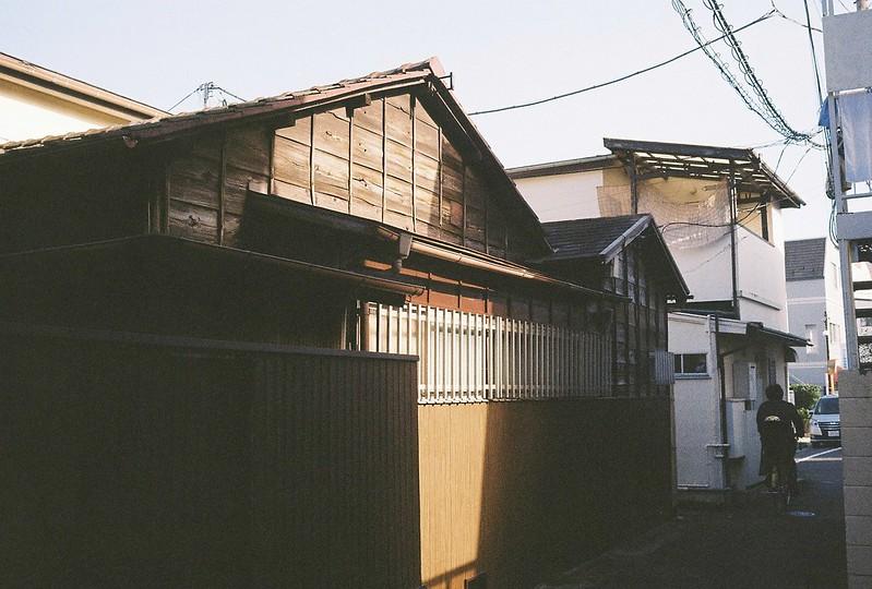 025東京いい道しぶい道西大井のんき通り暗渠の昭和住宅