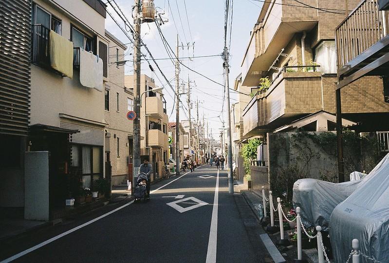 015東京いい道しぶい道西大井のんき通りキッチンペギーを過ぎるとほぼ住宅街