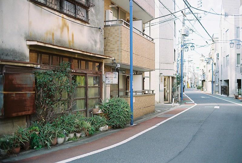 003東京いい道しぶい道西大井のんき通りお好み焼たじ