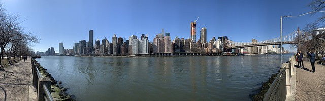 East River Panoramic view from Roosevelt Island (Explored)