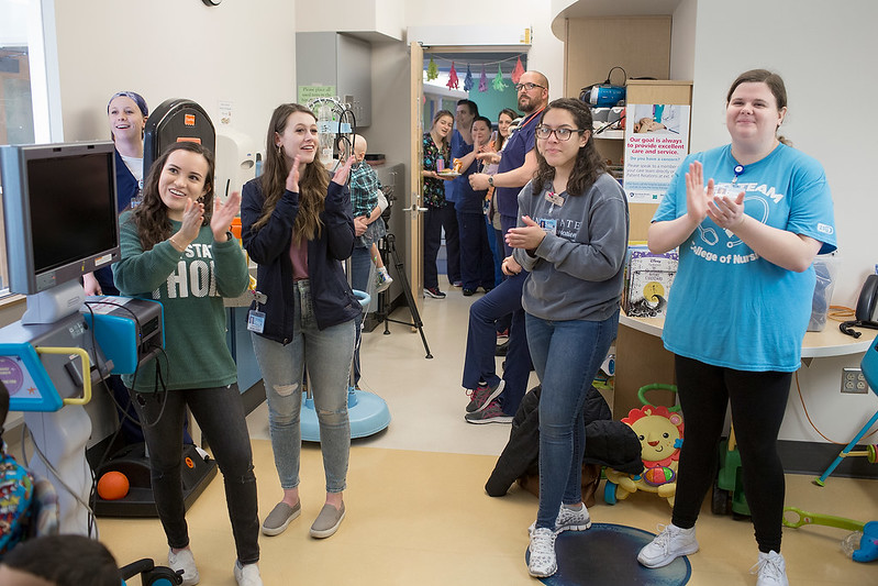 THON 2020 watch party - Penn State Children's Hospital