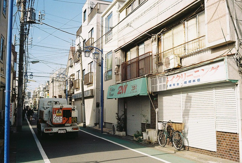012東京いい道しぶい道西大井のんき通りドライクリーニング