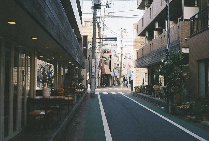 003東京いい道しぶい道西大井のんき通り入口