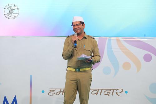 Rakesh Mutreja Ji Stage- coordinator