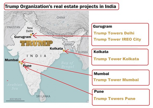 Trump Boosts His Business Interests In India