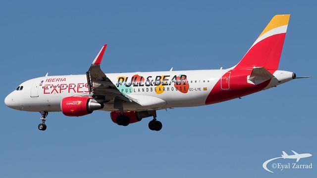 MAD - Iberia Express Airbus A320 EC-LYE